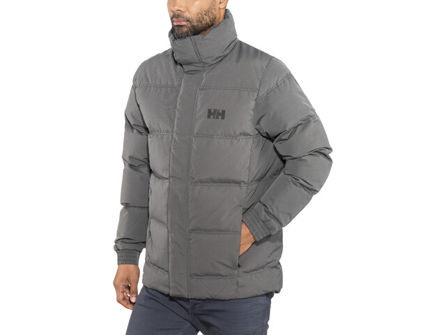 Helly Hansen Dubliner Down Jacket Herren black melange